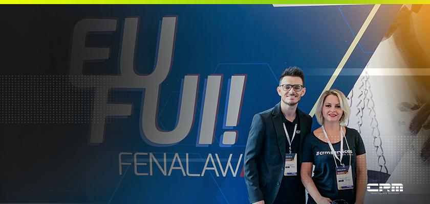 equipe da CRM Services na Fenalaw 2019