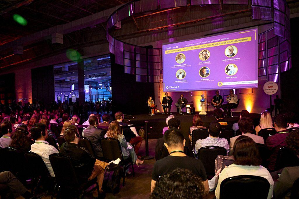 apresentação do evento