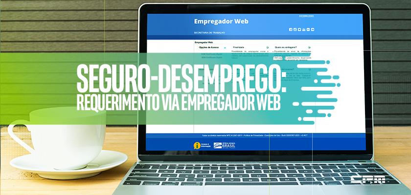 seguro desemprego empregador web